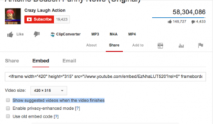 How To Center Align A YouTube Video Embed In WordPress